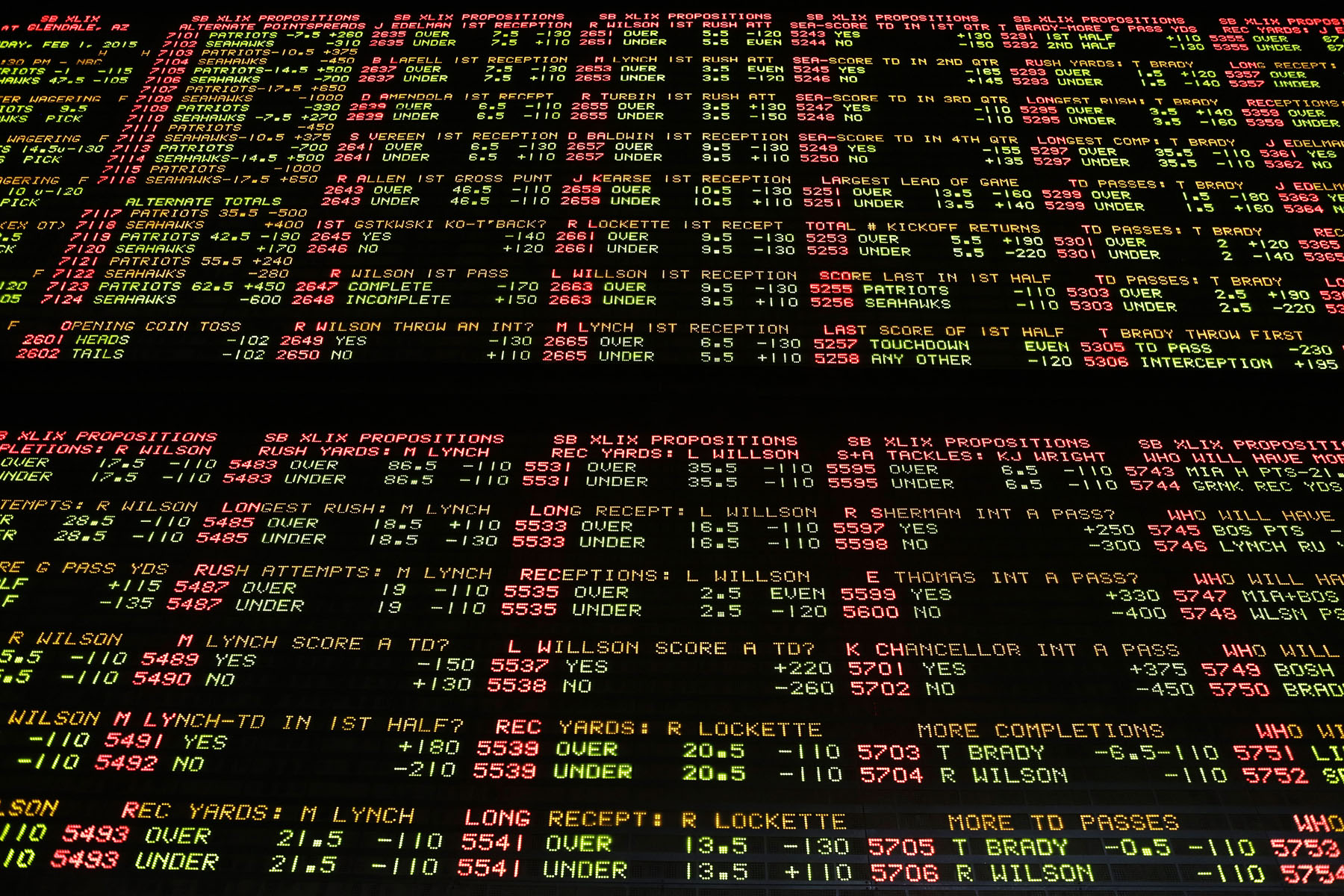 vegas odds on bowl games luxor sportsbook