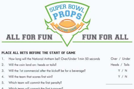 Fun prop bets