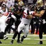 Saints versus Falcons2 feat