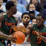 Durand Scott and the Miami Hurricanes will look to upset Duke on Wednesday, and thus stay unbeaten in ACC play.
