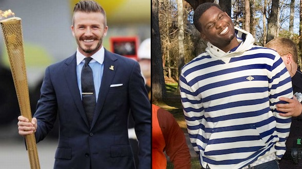 David Beckham and Rolando McClain Both Retiring, Only One Will Be Missed