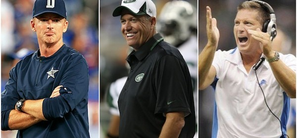 Dead Men Walking: Oddsmakers Say 6 NFL Coaches In Real Trouble