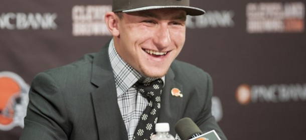 Browns 'Stunned' By Johnny Manziel's 'Antics'—Seriously Though, Did They Just Meet Him?