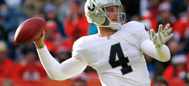 Raiders QB Derek Carr Happy Team Isn't Chasing Free Agents