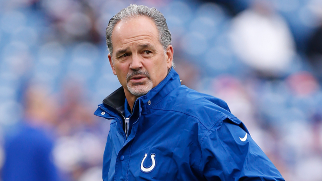 Colts coach Chuck Pagano has no idea what he's doing