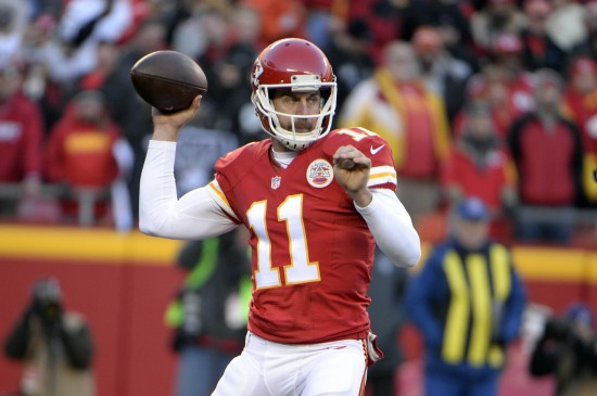 Alex Smith's time is running out in Kansas City