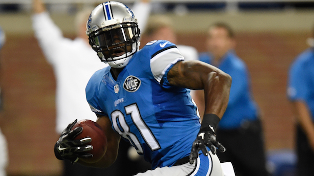 No love lost between Calvin Johnson and Lions