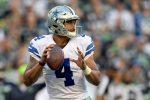 Cowboys Coach Jason Garrett Praises Rookie QB Dak Prescott