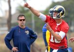 Jeff Fisher Sticks By Stance Rams QB Jared Goff Will Play When He's 'Ready'