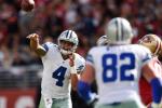 Cowboys' Jason Witten Has '100 Percent' Confidence In Rookie QB Dak Prescott
