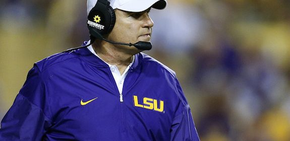 Speculation heats up about Les Miles to Ole Miss