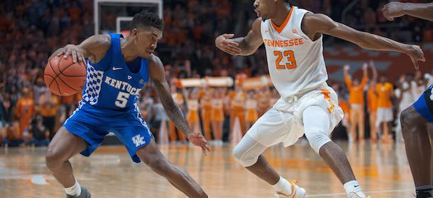Kentucky Gets Back On Track Against Tennessee