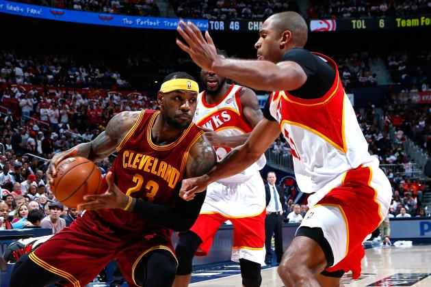 nba betting tonight cavs hawks box score