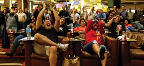 Casino Revenue from March Madness Jumps