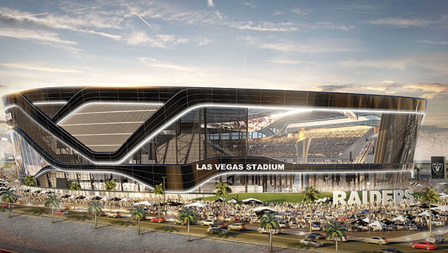 Las Vegas lease approved for Raiders
