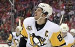 Crosby Back at Practice for Penguins