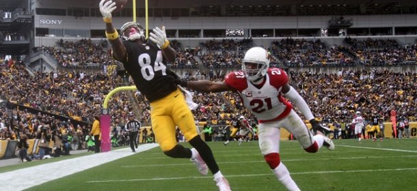 Sportsbooks Like Antonio Brown To Lead NFL in Receiving Yards and TDs