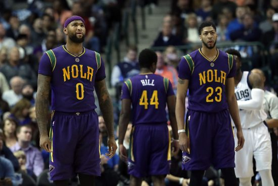 Anthony Davis says Pelicans would be NBA Finals bound if DeMarcus Cousins was healthy