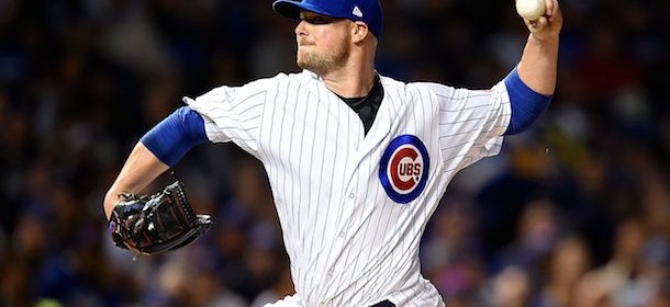 Cubs' Jon Lester could miss the rest of the regular season