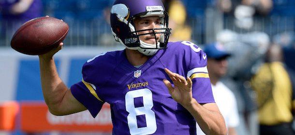 Vikings QB Sam Bradford ruled out in Week 3