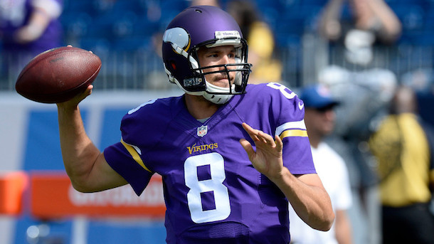 Vikings QB Sam Bradford ruled out in Week 3
