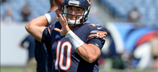 Bears head coach John Fox hints at potential change at QB