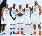 Carmelo Anthony claims Russell Westbrook, Paul George 'big reason' he wanted to join Thunder