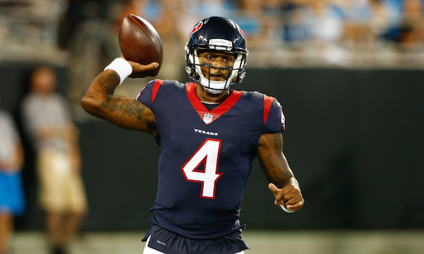 Texans QB Deshaun Watson to start Week 2