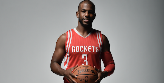 Rockets PG Chris Paul set to miss 2-4 weeks with knee injury