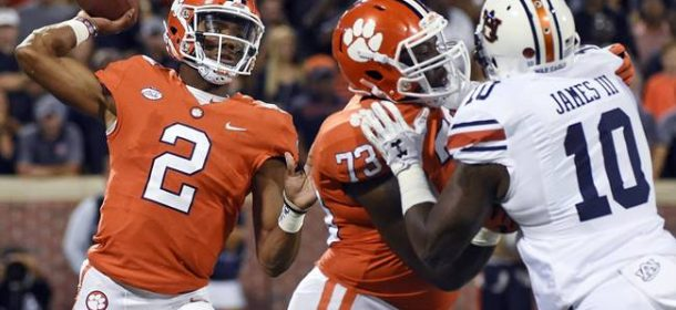 Clemson Visits Syracuse Friday in ACC Showdown