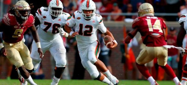 Miami Hosts Notre Dame in Game with CFP Implications