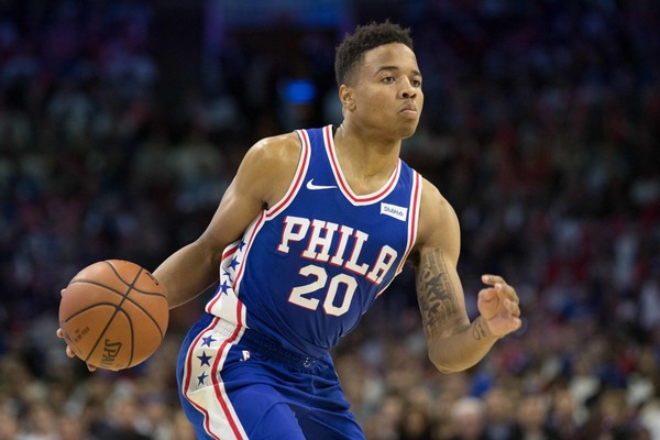 76ers rookie Markelle Fultz nearing his return to the floor