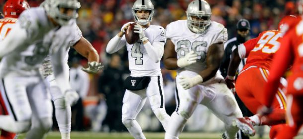 Raiders visit Chiefs in Important AFC West Showdown