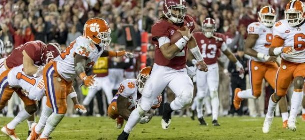 2018 College Football Playoffs: 'Bama Fourth Seed But Favored to Win Title