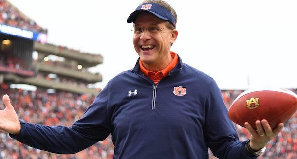 Auburn extends Gus Malzahn through 2024