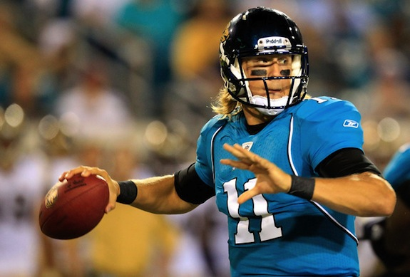 Blaine Gabbert didn't even play and he still ended up looking bad.