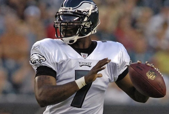 Michael Vick has played well this year, Nick Foles played better on Sunday.