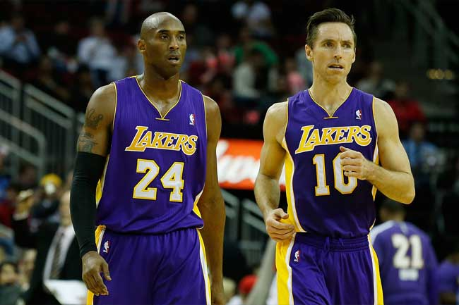 Kobe Bryant and Steve Nash will want to go out on a high but whether the Lakers look unlikely to contend.
