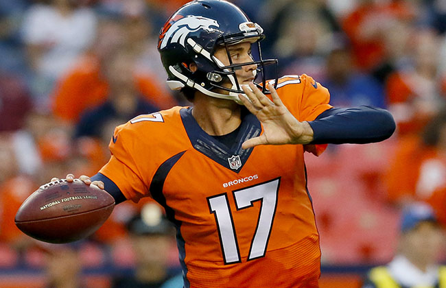 Brock Osweiler, Broncos