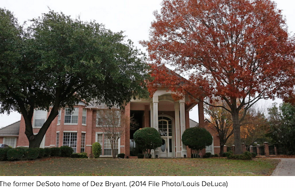 Cowboys Wr Dez Bryant Being Sued For Trashing House